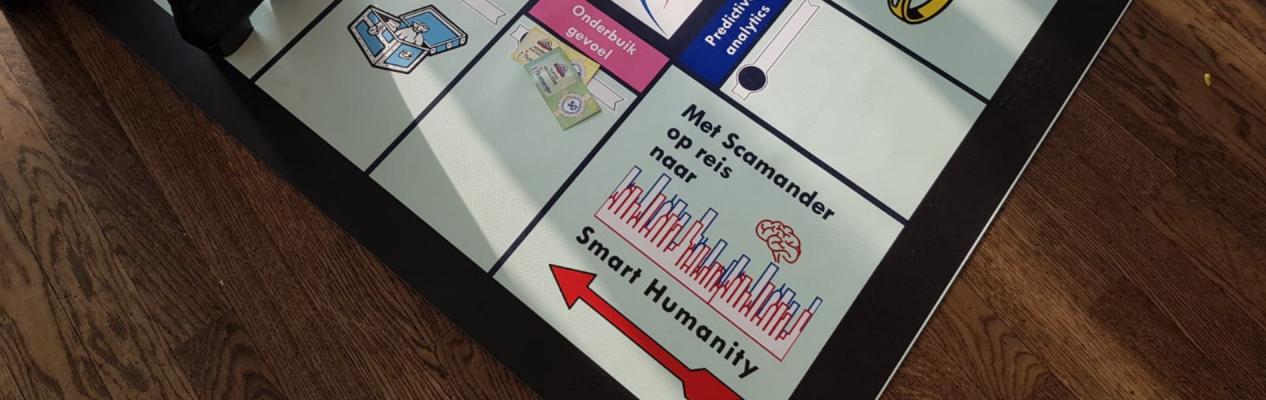 Met Scamander op reis naar Smart Humanity