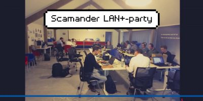 LAN+-party bij Scamander