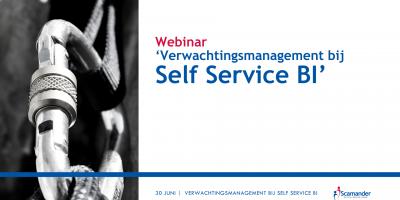 Webinar Verwachtingsmanagement bij Self Service BI