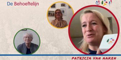 Overhandiging Behoeftelijn knop door wethouder Patricia van Aaken van Schiedam_Moment