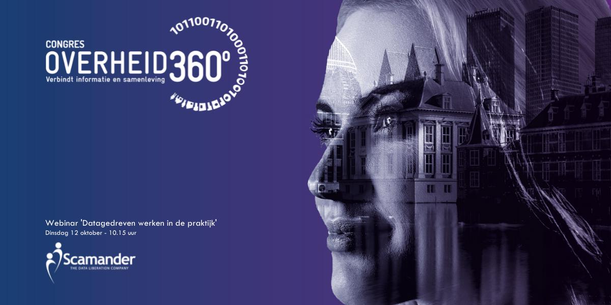 Datagedreven werken in de praktijk - webinar tijdens Overheid 360